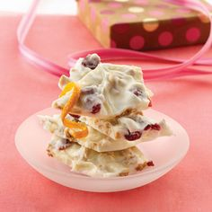 Cranberry Almond Bark Recipe