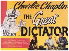The Great Dictator (1940): The best Charles Chaplin's film.