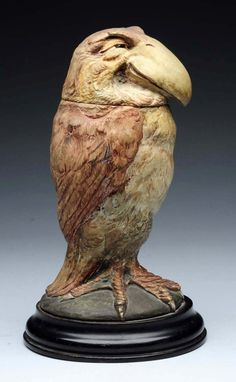 Buy online, view images and see past prices for Martin Brothers Stoneware Wally Bird Jar & Cover. Invaluable is the world's largest marketplace for art, antiques, and collectibles. Modern Ceramics, Contemporary Ceramics, Ceramic Birds, Ceramic Art, Martin Brothers, Art And Architecture, Pottery Art, Unique Art, Sculpture Art