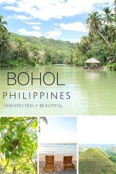 Beautiful Bohol, Philippines: Even though Bohol was an afterthought in our itinerary, I ended up enjoying it the most! I guarantee you'll love Bohol as much as I do. Voyage Philippines, Philippines Vacation, Bohol Philippines, Philippines Beaches, Visit Philippines, Palawan, Siargao, Places To Travel, Places To See
