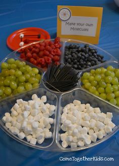 """""""Make your own molecules"""" from Come Together Kids: Super Science Birthday Party"""