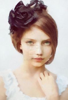 Her Beautiful Face by DancerOfTime.deviantart.com on @DeviantArt