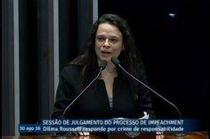 Janaína Paschoal reafirma pedaladas fiscais e pede desculpas a Dilma pel...