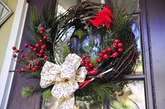 Wreath ready for you to pick up! #Christmas #wreath