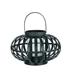 Lanterne Malin bambou noir GM