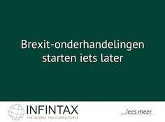 Brexit-onderhandelingen starten iets later http://im.nu/jjkRkT