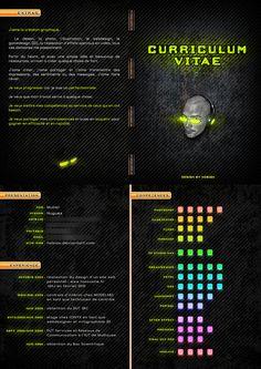 Curriculum Vitae C.V. by *Nobiax on deviantART