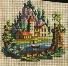 A Charming Berlin WoolWork Chart