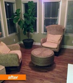 Before & After: From Tired Tire To Awesome Ottoman — That Was A What