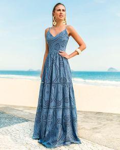 Bohemian maxi dress, boho style clothing, boho-chic clothes, gypsy summer long dress on boho boutique Boho Fashion Summer, Modest Fashion, Hijab Fashion, Fashion Dresses, Hippie Fashion, Cute Summer Dresses, Beach Dresses, Summer Outfits, Ethno Style