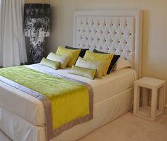 Interior Architecture showroom in Mies - Switzerland Casamance, Interior Design Studio, Geneva, Fabrics, Bedroom, Yellow, Projects, Furniture, Home Decor