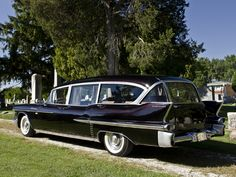 Cadillac Hearse..Re-pin brought to you by agents of #CarInsurance at #HouseofInsurance in Eugene97401