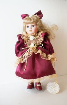 Leonardo Collection Porcelain Doll by Schulinhaus on Etsy, $20.00