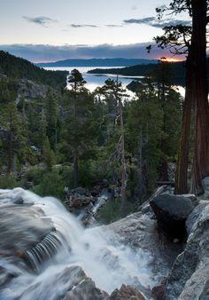 Eagle Falls, Lake Tahoe,  A favorite hike...all the way to Eagle Lake - beautiful place!