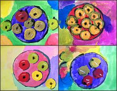 MaryMaking: Matisse Inspired Apples