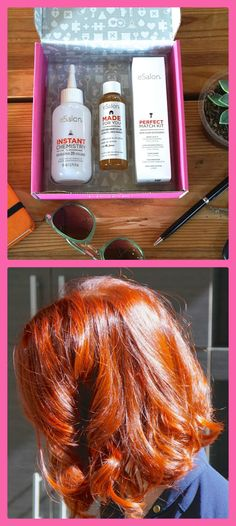 """How to get a custom-blended hair color for fall, whatever your signature shade: """"It's like a pumpkin spice latte, but for your hair."""" Coloring your hair at home as never been so easy! Once you complete the survey, our Colorists will create the perfect color for you and ship straight to your door."""