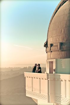 Griffith Observatory - Michael Segal Weddings #engaged #engagement