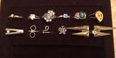 Lot 11 Vntg Costume Junk Jewelry Rings for Kids Dress Up Treasure Props Fun | eBay