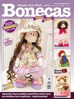 Artesanato - Bonecas : COL ARTE FACIL BONECAS 016 - Editora Minuano