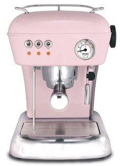 ASCASO Dream Espresso Machine - Baby Pink