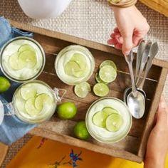 Key Lime Mason Jar Cheesecakes - EatingWell.com