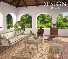 Tropical Home Decor, Tropical Houses, Outdoor Sectional, Sectional Sofa, My Home Design, House Design, Outdoor Furniture Sets, Outdoor Decor, Sisal