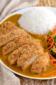 Slimming Eats Low Syn Chicken Katsu Curry - gluten free, dairy free, Slimming World and Weight Watchers friendly - a delicious fakeaway dish
