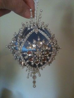 110 Best Satin, beads, & sequin ornaments images | Sequin ornaments ...