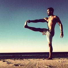 Yoga Men dudes doing yoga