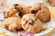 These chewy raisin and oat biscuits are a guaranteed lunchbox smash hit!