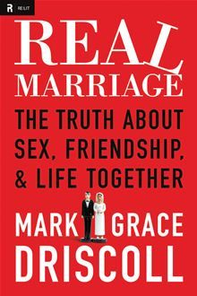 Real Marriage by Mark and Grace Driscoll. Read for Bible school program.I learned some good things. For instance, (future tense, as don't have a husband): I may think I am honoring my husband, but he is the judge of that. Likewise, he may think he is loving me. But I get to determine whether or not I feel loved. Effort is awesome, but better when it gets through to the other person. Talk about it. Anyway, Overall good read.