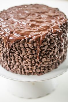 Whole Wheat Chocolate Chip Cake from chocolateandcarrots