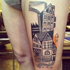 #peteraurisch #tattoo #houseoflove