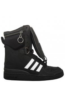 the best attitude cc16e bb046 Jeremy Scott for Adidas   Tall Boy High Sneakers Black   Hervia.com Tall  Boys