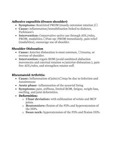 Soap Notes Occupational Therapy Examination Review Guide Rd