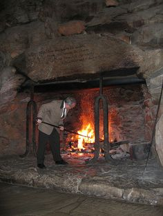 Wouldn't you want to spend a wintry eve hanging out in front of this fireplace? There are two in the Grand Hall at the Grove Park Inn in Asheville, NC. In Asheville, NC with Mark de Castrique in The Fitzgerald Ruse. Asheville North Carolina, Asheville Nc, Wonderful Places, Great Places, Home Fireplace, Fireplaces, Grove Park Inn, Biltmore Estate, Craftsman Style
