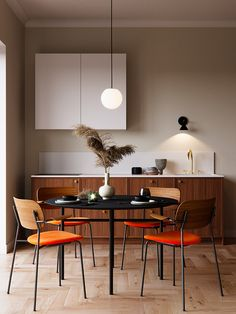 How to choose the parachute for your kitchen – Architempore – Caterina Pilar Palumbo - Modern Dining Room Inspiration, Interior Inspiration, Interior Design Living Room, Interior Decorating, Sweet Home, Cuisines Design, Room Decor Bedroom, Interior Architecture, House Design
