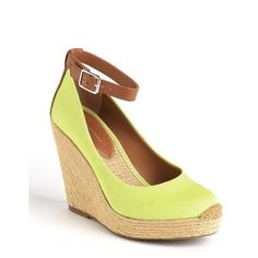 BCBGENERATION Gracyn Espadrille Platform Wedge Pumps and other apparel, accessories and trends. Browse and shop 11 related looks.
