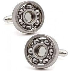 Authentic Ball Bearing Cufflinks - Designer | Cufflinks.com