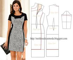 Muito na moda este modelo de vestido preto e branco tem feito as delicias de muita mulher. Ele tem a particularidade de transmitir elegância. A silhueta...