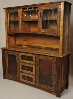 Rustic Furniture Portfolio - - buffets and sideboards - other metro - by Rory's Rustic Furniture