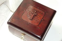 CROSS lock box with The Lords Prayer. by DAWNaffirmationBoxes