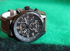 Timex Brass Case Field Chrono | 10 Worthy Watches Under $100 on Dappered.com