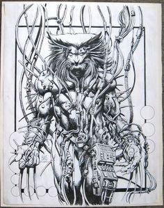 Drawing Comics Weapon X by Barry Windsor-Smith - Comic Book Artists, Comic Book Heroes, Comic Artist, Comic Books Art, Hq Marvel, Marvel Comics Art, Marvel Heroes, Marvel Characters, X Men