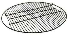 Fire Pit Cooking Grate Outdoor Round Metal for Firepit 7 Sizes Black New