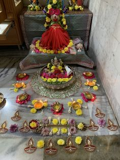 Varalakshmi Vratham 2019 honours the most popular Goddess Maha Lakshmi. Varalakshmi Puja or homam on this day means abundant wealth is sure to come your way. Ganesh Chaturthi Decoration, East Direction, Khadi Kurta, Silver Pooja Items, Pooja Room Design, Rangoli Designs Diwali, Puja Room, Goddess Lakshmi, God Pictures