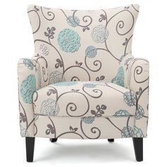 Nisha Fabric Club Chair