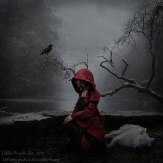 Red Riding Hood by LittlePurpleBee