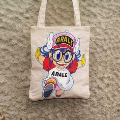 Arale Tote Bag de Mr. Rancio! Ilustración por DaWanda.com #handmade #totebag #arale