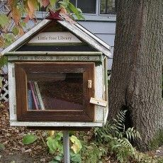 Book swap with your neighbors.